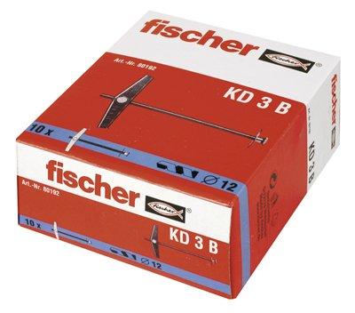 Fischer Kipp- u. Federklappdübel K, KD, KDH, KM KD 3 B