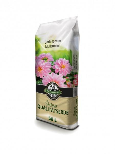 Gärtner Qualitätserde 50 Liter
