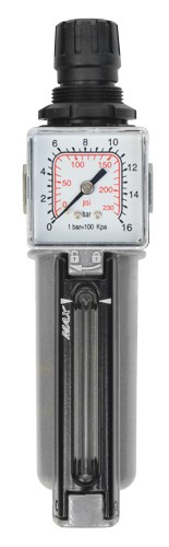 Filterdruckregler 1/4 Zoll 14 bar