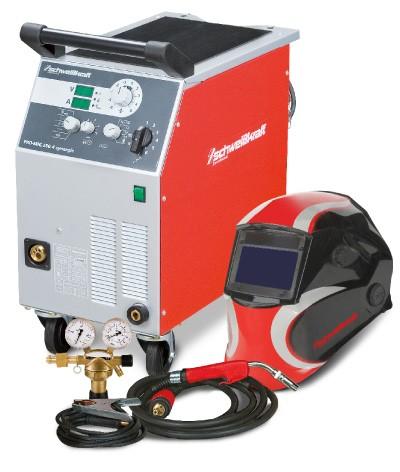 Schweißkraft Schutzgasschweißanlage PRO-MIG 230-4-30 AM Aktions-Set