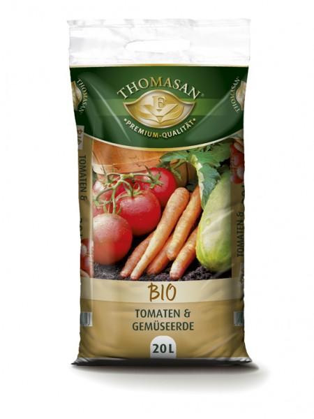 THOMASAN® Bio Tomaten & Gemüseerde 20 Liter