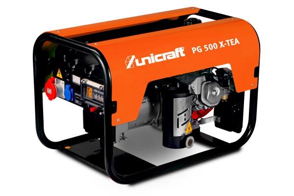 unicraft PG 500 X-TEA Profi-Synchron-Stromerzeuger