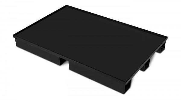 Sicherheits-Standpalette SSP stehend stationär 1200 x 800 x 140 mm